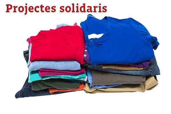 Resultat d'imatges de recollida de roba